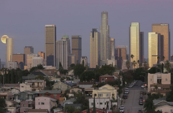 Peaceful and Large Living with Awesome Views of Downtown LA | Parking Included